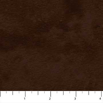Northcott - Toscana Wide Flannel Backing - Brown - 108 Wide