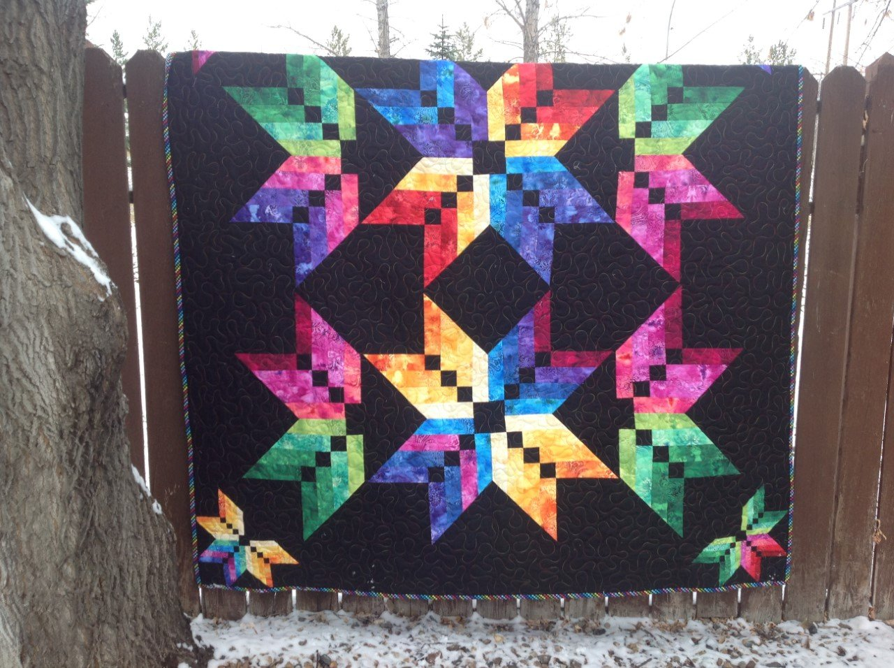 Learn A Ruler Binding Tool Star Quilt