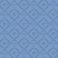 Quilting Treasures - 1 in A Minion - Set Geo blender - Blue