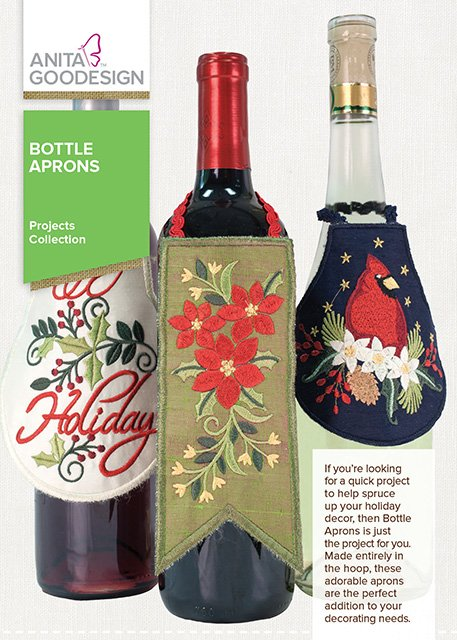 Anita Goodesign - Projects Collections - Bottle Aprons