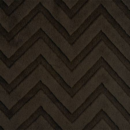 Shannon Fabrics - Chevron Cuddle - Brown