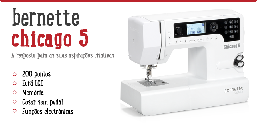 Bernette Chicago 40 Sewing Machine 40020208940 Impressive Complete Sewing Machine Chicago