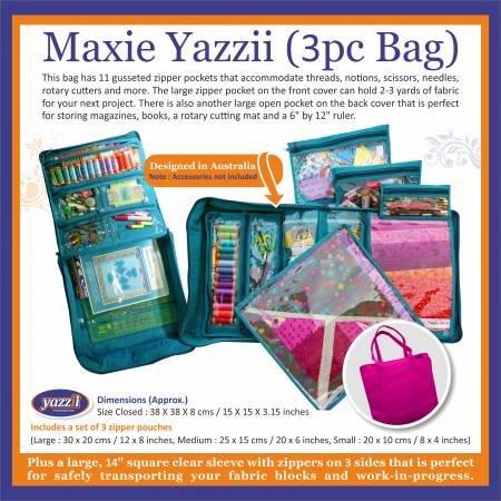 Yazzii - Maxie Yazzii - Navy - 3 Peice Bag