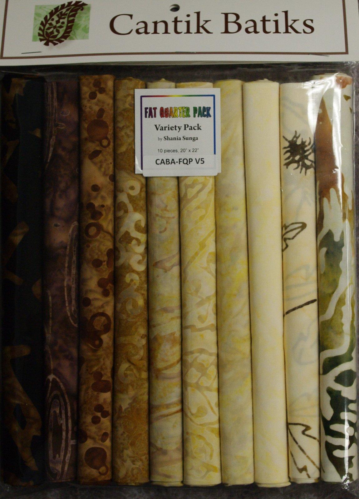 Cantik Batiks - Shania Sunga - Fat Quarter Pack