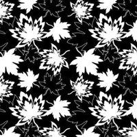 Canada by Shania Sunga - Canadian Maples - Fleece - Black