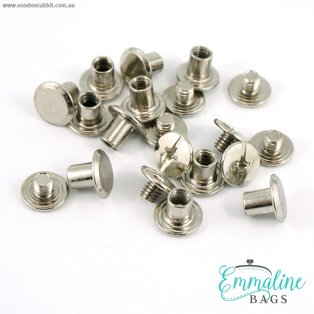 Emmaline - Chicago Screws - Medium - Nickel
