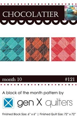 Chocolatier - Block of the Month - (Month 10)
