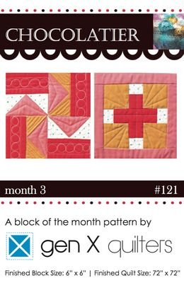 Chocolatier - Block of the Month - (Month 3)