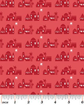 Christmas Pure & Simple - Red Bethlehem