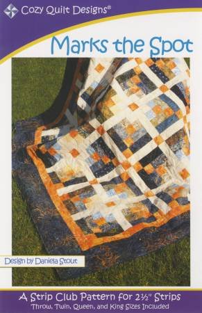 Cozy Quilt Designs - Marks the Spot - Strip Club Pattern