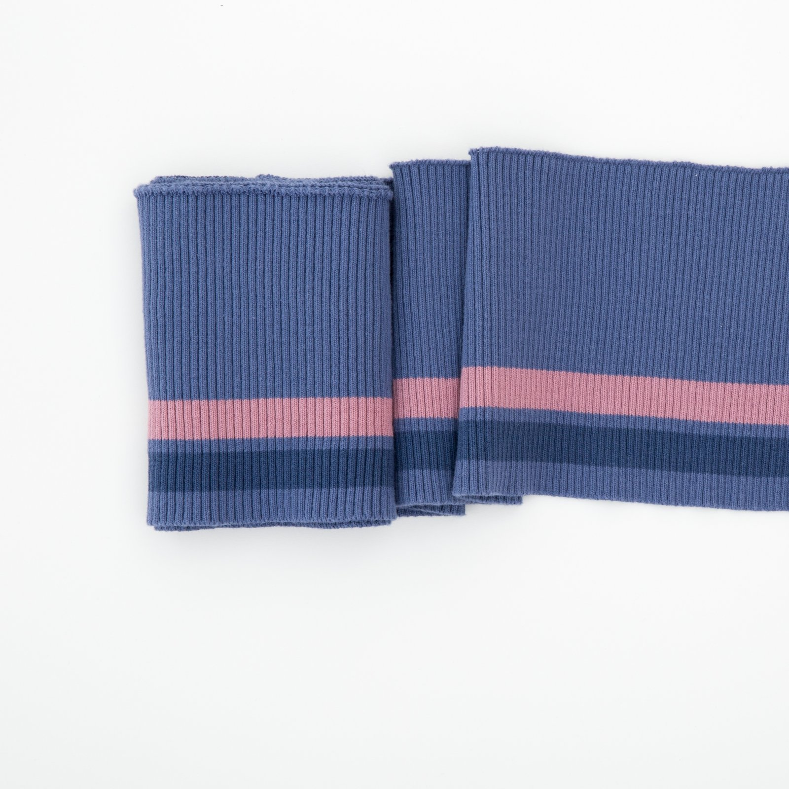 Cylde Cuffing Blue/Pink Stripping