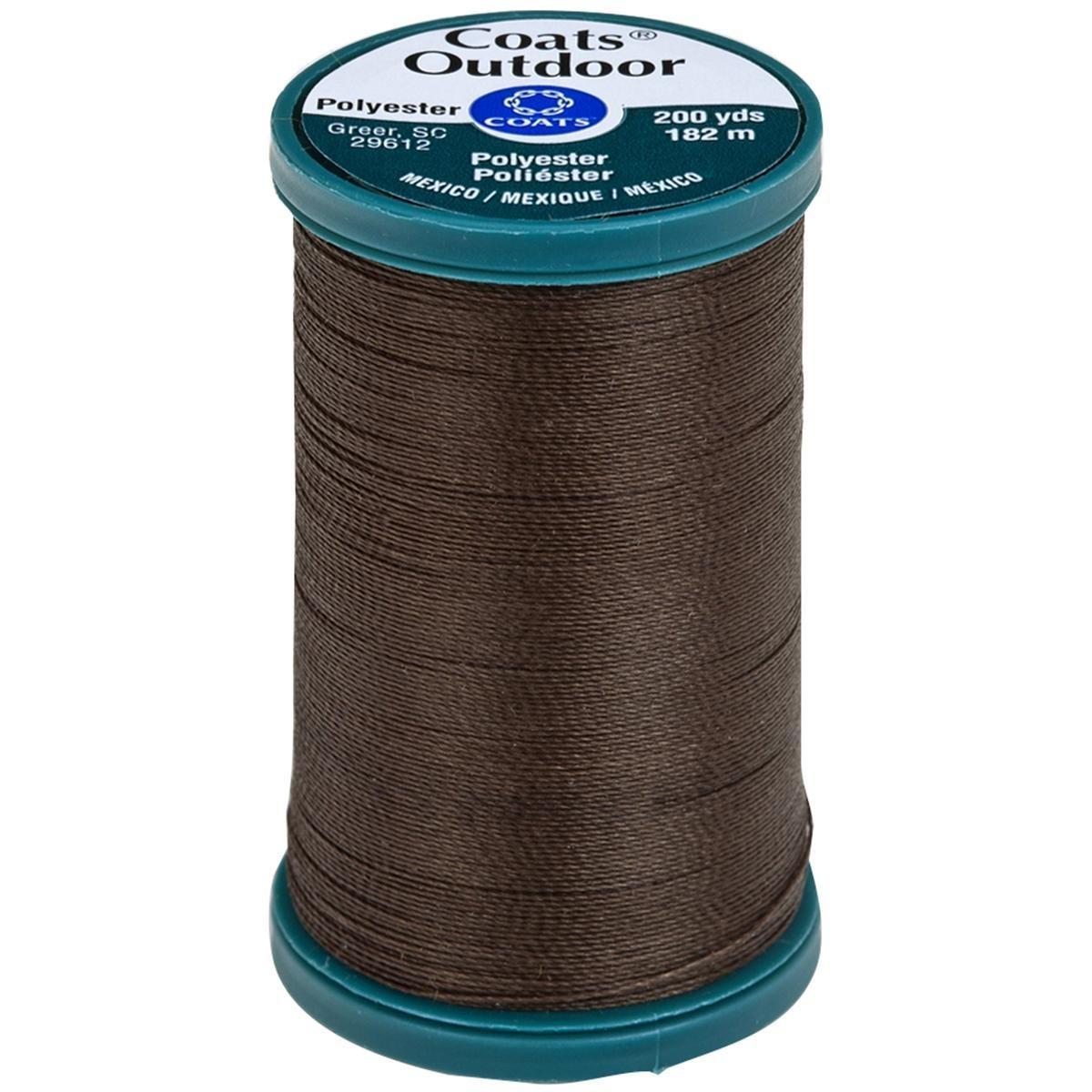 Coats & Clark - Dark Brown Thread