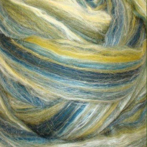 Ashland Bay - Multi-Coloured Merino/Tussah - Del Mar