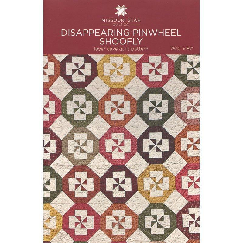 MSQC - Disappearing Pinwheel Shoofly Quilt Pattern