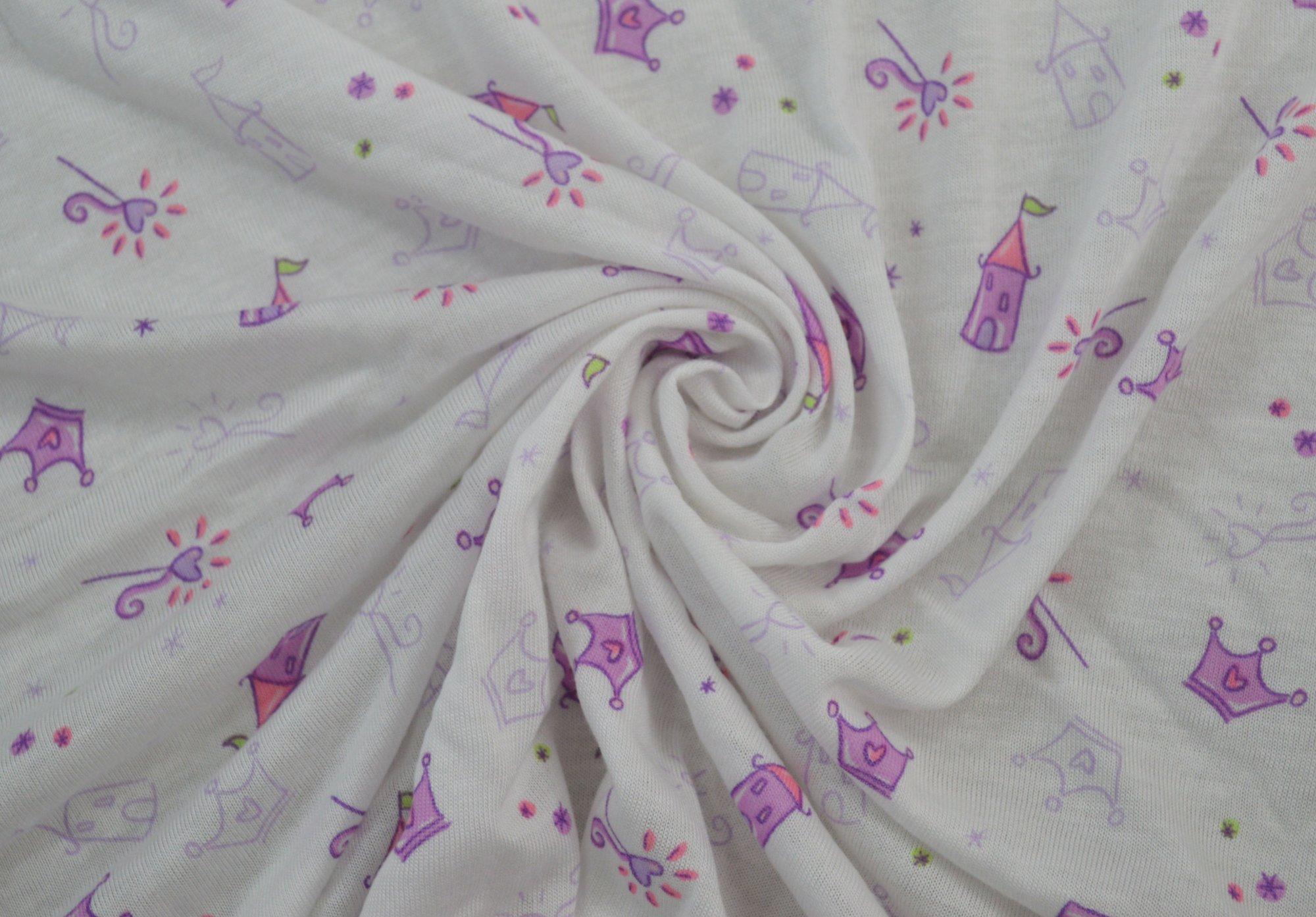 Printed T-Shirt Princess - Pink/Purple