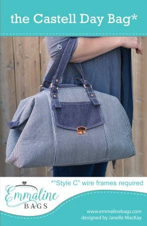 Emmaline - The Castell Day Bag - Pattern