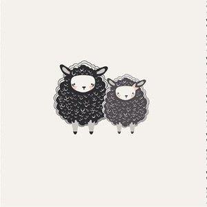 Art Gallery Fabrics - Nest - One Two Sheep