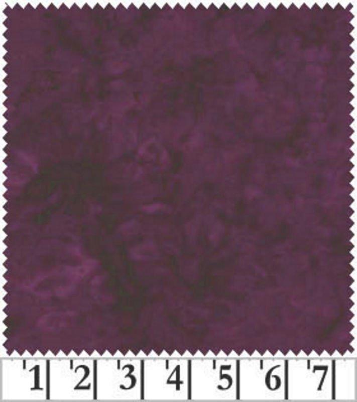 Fresh Water Designs - Java Batiks - Backing - Purple