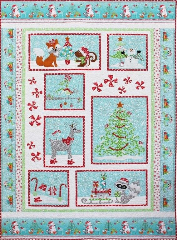 Frosty's Wonderland - Block of the Month Quilt Kit