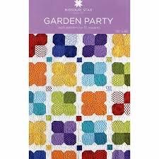 MSQC - Garden Party Quilt Pattern