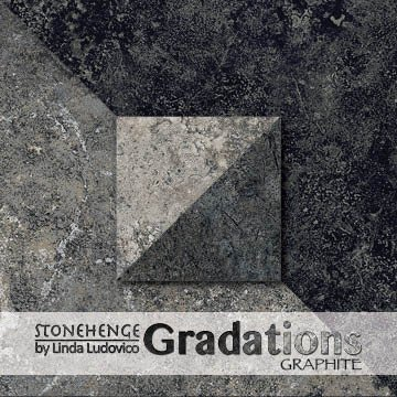 Stonehenge Gradations Tiles - 42pcs 10 Squares - Graphite