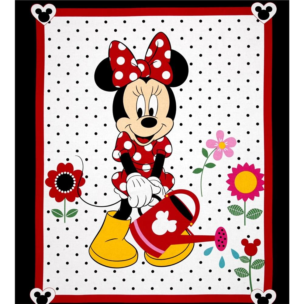 Springs Creative - Disney - Minnie Mouse - Grow Your Own Panel - White