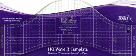 HQ - Ruler Wave B - 10 Template