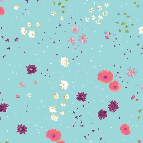 Art Gallery Fabrics - Mediterraneo - Coastal Garden Blue