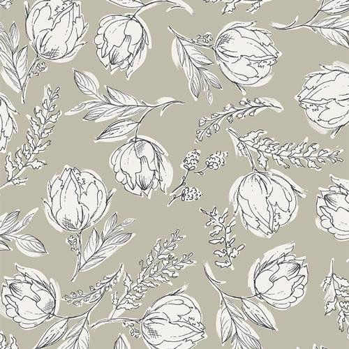 Art Gallery Fabrics - Gathered - Unruly Terrace Shade - Knit