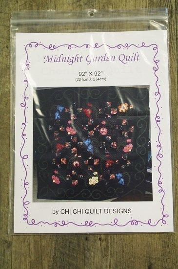 Chi Chi Quilt Designs - Midnight Garden Quilt