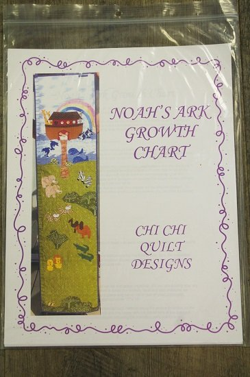 Chi Chi Quilt Designs - Noah's Ark Growth Chart