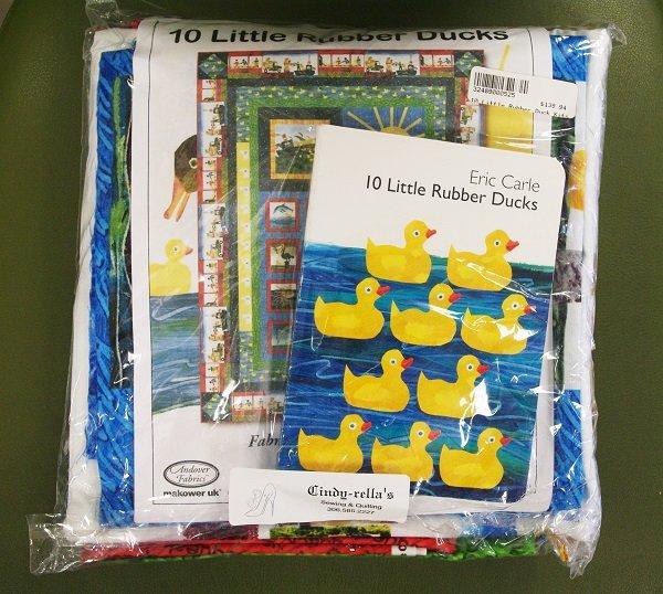 10 Little Rubber Ducks Quilt Kit