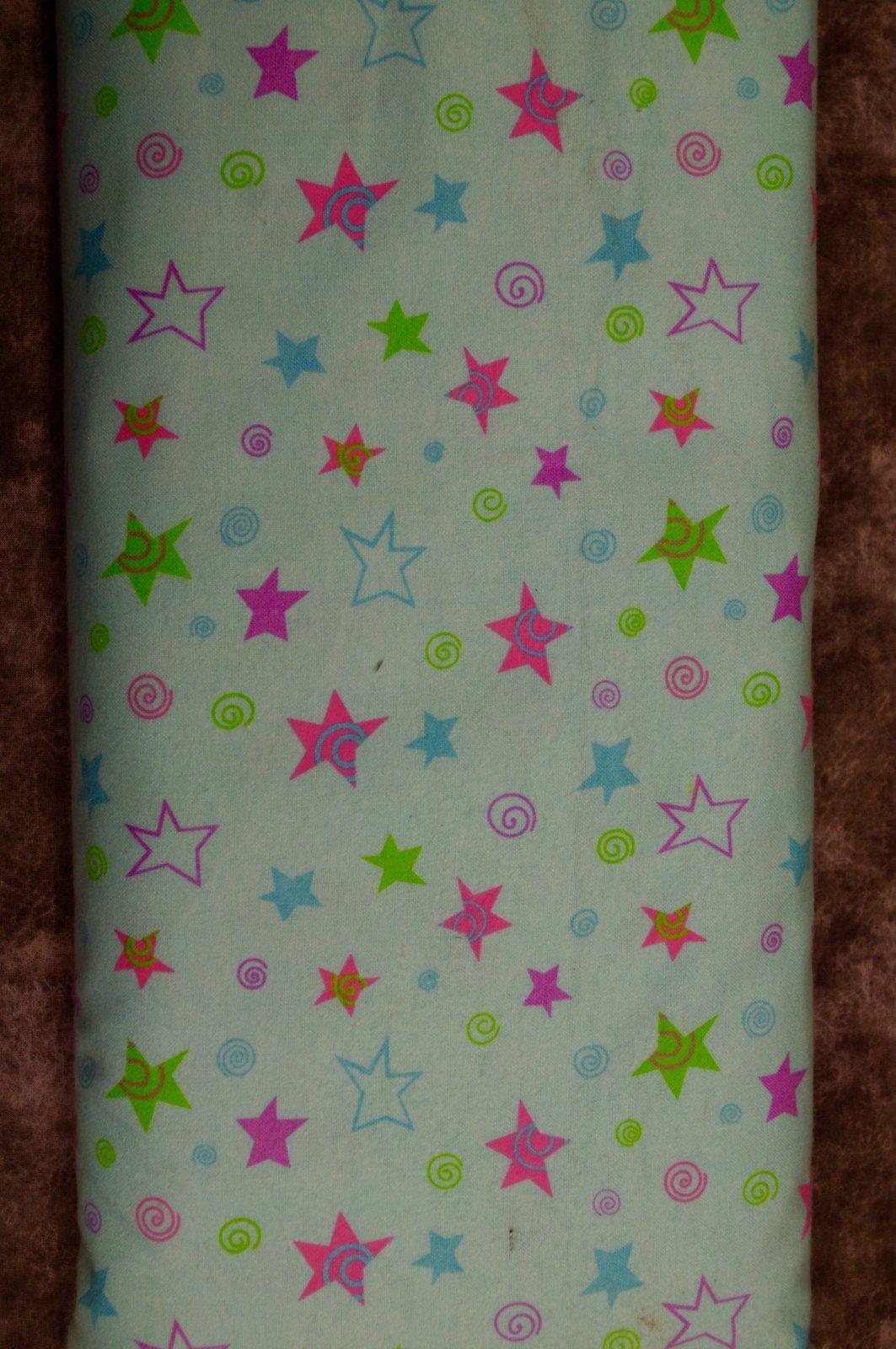 Flatfold Flannel - Stars on Blue