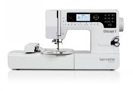 Bernette Chicago 7 - Embroidery & Sewing Machine