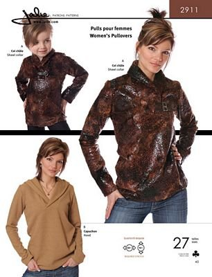 Jalie Patterns - Womens Pullovers - 27 Sizes
