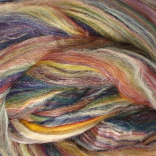 Ashland Bay - Multi-Coloured Merino/Tussah - Jamaica
