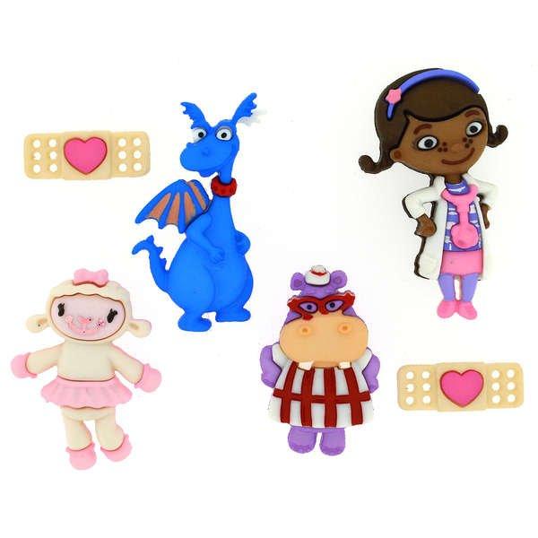 Dress It Up Buttons - Disney - Doc McStuffins