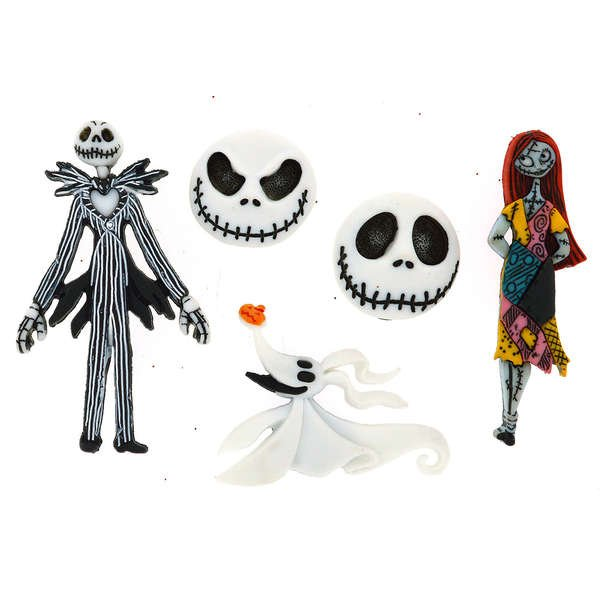 Dress It Up Buttons - Disney - The Nightmare Before Christmas