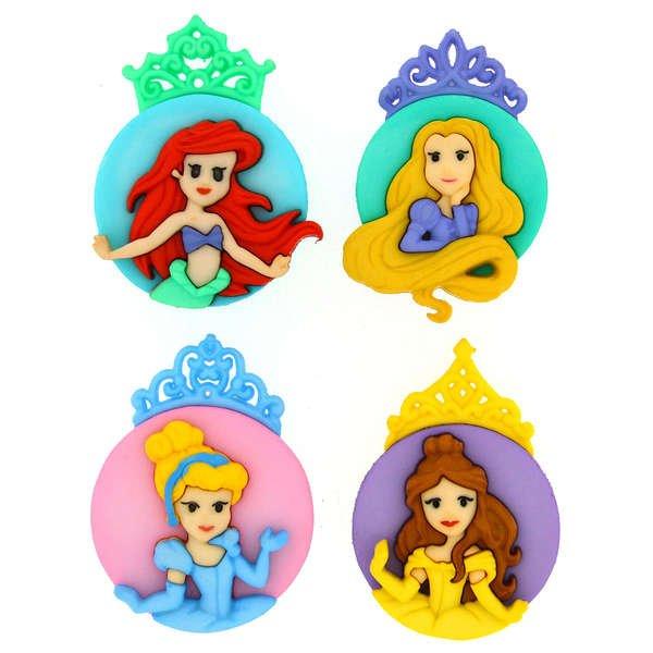Dress It Up Buttons - Disney - The Princesses