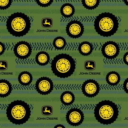 International Textiles -  John Deere Tires on Tread