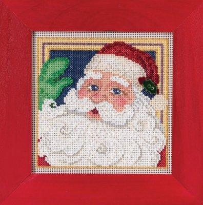 Mill Hill - Buttons & Beads Winter Series - Jolly St. Nick