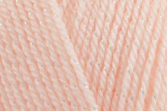 Estelle Designs - King Cole - Baby Glitz Yarn - Peach