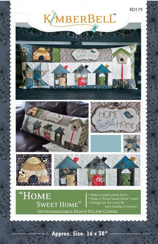 Kimberbell - Home Sweet Home Bench Pillow Kit