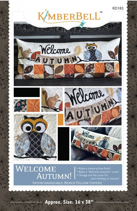 Kimberbell - Welcome Autumn Bench Pillow Kit