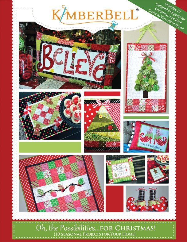 Kimberbell Designs - Oh the Possibilities Project Book...For Christmas !