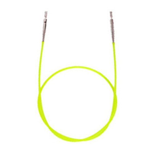 Knitter's Pride - Interchangeable Needle Cord - 14'' (35cm to make 60cm/24'' IC needle) : Green