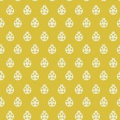 Free Spirit - Tula Pink - True Colors - Lady Bug - Mustard Seed