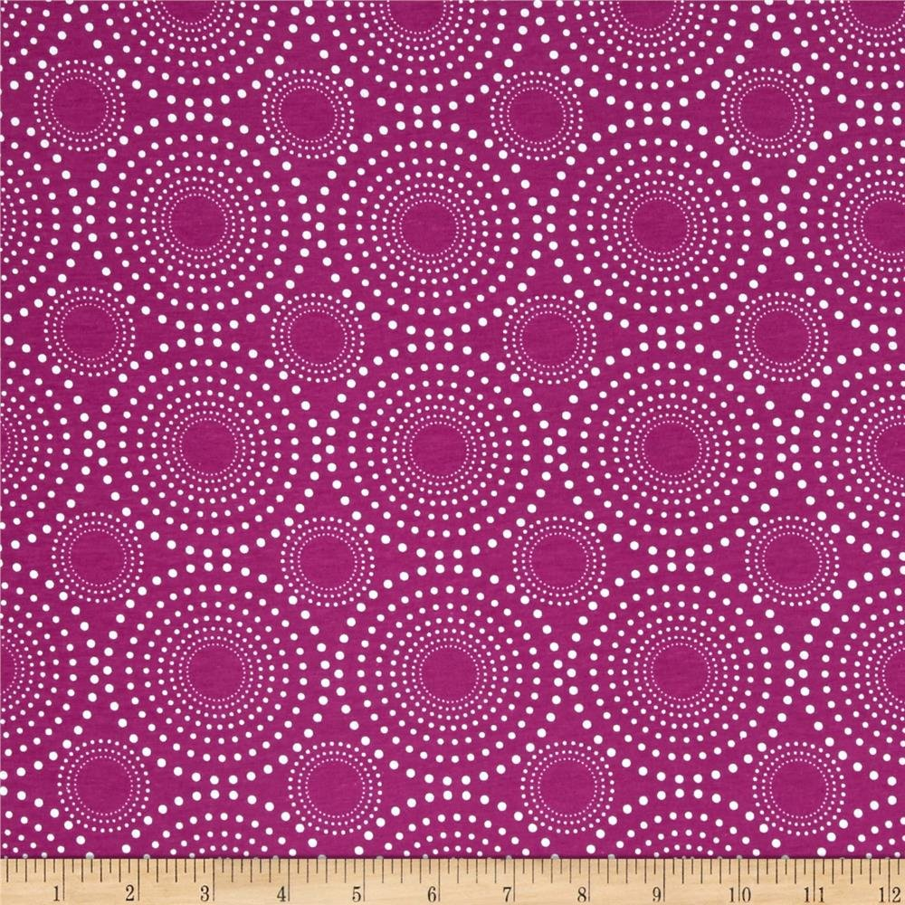 Riley Blake  - Vivid Fireworks Knits - Grape