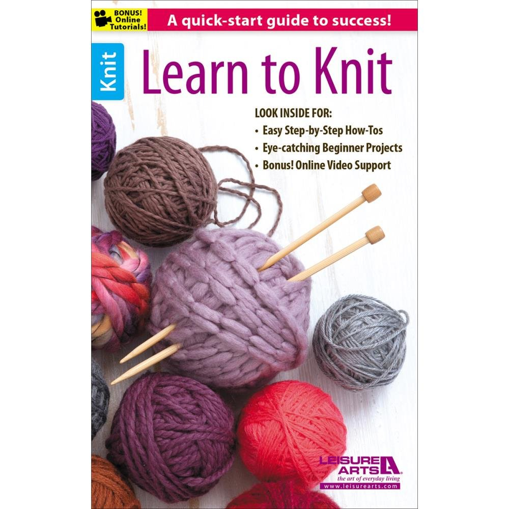 Leisure Arts - Learn to Knit