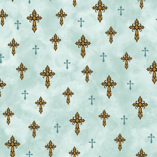 Quilting Treasures - Amazing Grace - Crosses